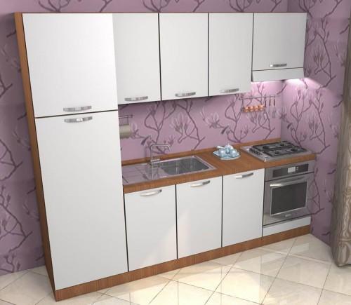 mobila bucatarie Bianca