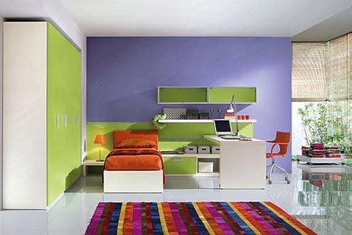 Dormitoare tineret Green