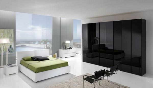 Dormitor Black&White