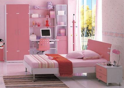 Dormitor Tineret Roz