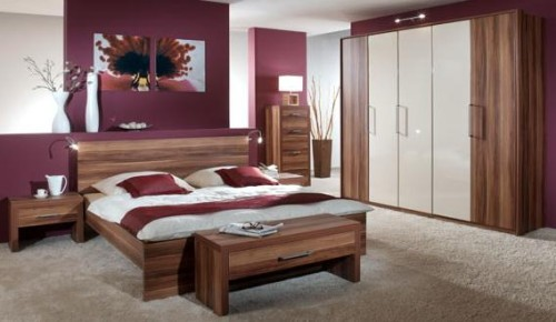 Mobila dormitor Mogano