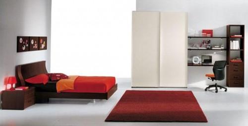 mobilier dormitor alb la comanda